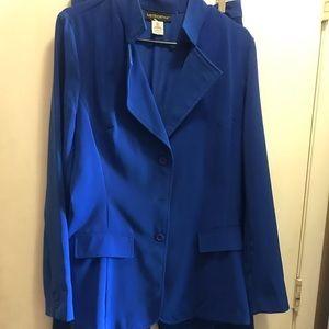 Colbalt Blue 2Pc Pantsuit